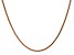 14k Rose Gold 1.8mm Solid Diamond Cut Wheat Chain 16 inches