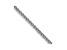 14k White Gold 1mm Wheat Pendant Chain 18 inches