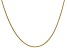14k Yellow Gold 1.5mm Cable Chain 20 Inches