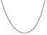 14k White Gold 1.5mm Solid Polished Cable Chain 18 Inches