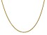 14k Yellow Gold 1.8mm Solid Polished Cable Chain 18 Inches