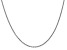 14k White Gold 1.80 mm Cable Chain 24 Inches