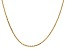 14k Yellow Gold 1.65mm Solid Diamond Cut Cable Chain 18 Inches