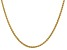 14k Yellow Gold 2.8mm Wheat Chain 18 Inches