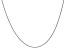 14k White Gold 0.80mm Wheat Chain 24 Inches