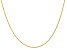 14k Yellow Gold 1.1mm Polished Baby Rope Chain 20 Inches