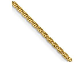 14k Yellow Gold 1.5mm Parisian Wheat Chain 16 Inches
