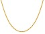 14k Yellow Gold 1.5mm Parisian Wheat Chain 24 Inches