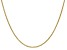 14k Yellow Gold 1.5mm Mariner Link Chain 16 inch