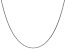 14k White Gold 1mm Cable Chain 18 Inches