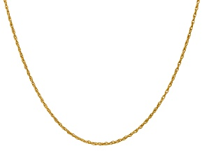 14k Yellow Gold 1.3mm Heavy-Baby Rope Chain 18 Inches