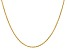 14k Yellow Gold 1.3mm Heavy-Baby Rope Chain 24 Inches
