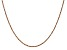 14K Rose Gold 1.7mm Ropa Chain
