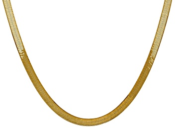 Picture of 14k Yellow Gold 5.0mm Silky Herringbone Chain