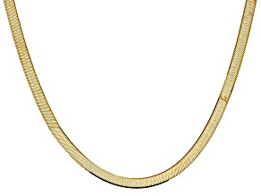 14k Yellow Gold 5.5mm Silky Herringbone Chain