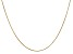 14k Yellow Gold 0.65mm Round Snake Chain