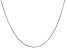 14k White Gold 0.60mm Round Snake Chain