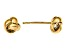 14k Yellow Gold Gold Polished Love Knot Post Earrings