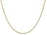 14k Yellow Gold 1.1mm Box Chain 20