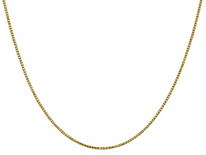 14k Yellow Gold 1.1mm Box Chain 24