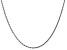 "14k White Gold 1.75mm Diamond Cut Rope Chain 16"""