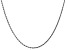 "14k White Gold 1.75mm Diamond Cut Rope Chain 24"""