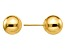 14k Yellow Gold Polished 8mm Ball Post Earrings