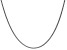 14k White Gold 1.65mm Solid Polished Wheat Chain 30