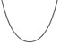 """14k White Gold 2mm Solid Polished Wheat Chain 16"""""""