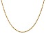 14k Yellow Gold 1.4mm Polished Singapore Chain 20""