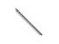 14k White Gold 0.65mm Diamond Cut Wheat Pendant Chain 18 Inches