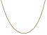 14k Yellow Gold 1.4mm Round Snake Chain 20 Inches