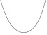 14k White Gold 1.4mm Round Snake Chain 18 Inches