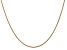 14k Yellow Gold 1.6mm Round Snake Chain 30 Inches