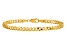 14k Yellow Gold 3.2mm Beveled Curb Chain