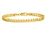 14k Yellow Gold 4.75mm Beveled Curb Chain