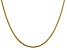 14k Yellow Gold 1.85mm Round Snake Chain 18 Inches