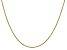 14k Yellow Gold 0.95mm Twisted Box Chain 16 Inches