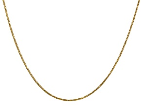 14k Yellow Gold 0.95mm Twisted Box Chain 20 Inches