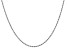 14k White Gold 2.0mm Regular Rope Chain 16 Inches