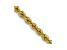 14k Yellow Gold 2.25mm Regular Rope Chain 18 Inches