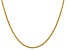 14k Yellow Gold 2.25mm Regular Rope Chain 22 Inches