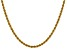 14k Yellow Gold 3mm Regular Rope Chain 30 Inches