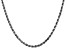 14k White Gold 3.5mm Diamond Cut Rope Chain 28 Inches