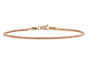 14k Rose Gold 1.40mm Spiga Chain