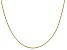 14k Yellow Gold 0.95mm Box Chain 18 Inches