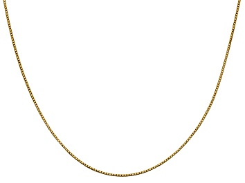 Picture of 14k Yellow Gold 0.95mm Box Chain 24 Inches