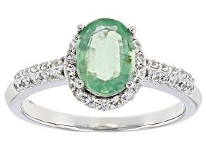 Pre-Owned Green Kyanite 10k White Gold Ring 1.47ctw