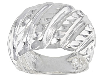 Picture of Pre-Owned Sterling Silver Wave Ring