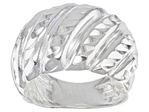 Pre-Owned Sterling Silver Wave Ring